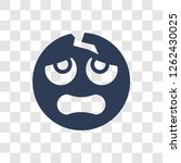 headache emoji icon. trendy... | Shutterstock .eps vector #1262430025