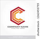 letter c logo template | Shutterstock .eps vector #1262453755