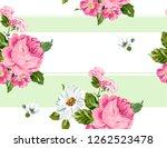 floral pattern background.... | Shutterstock .eps vector #1262523478