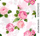 Floral Pattern Background....