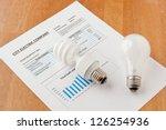 energy efficient and... | Shutterstock . vector #126254936