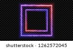 eps10. square purple and red... | Shutterstock .eps vector #1262572045