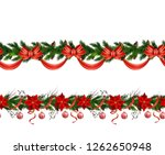 christmas elements for your... | Shutterstock .eps vector #1262650948