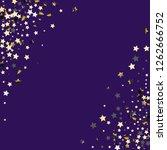 stars confetti diagonal border. ... | Shutterstock .eps vector #1262666752