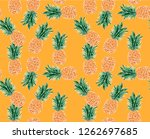 seamless vector pattern with...   Shutterstock .eps vector #1262697685