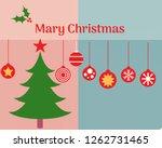 christmas tree image | Shutterstock . vector #1262731465