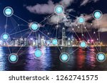 5g network wireless systems and ... | Shutterstock . vector #1262741575