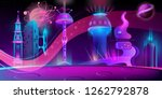 vector concept background with... | Shutterstock .eps vector #1262792878