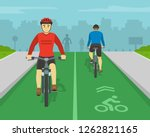 front and back view of people... | Shutterstock .eps vector #1262821165