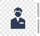 staff icon. trendy staff logo...   Shutterstock .eps vector #1262851405
