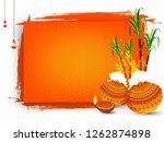 south indian festival pongal... | Shutterstock .eps vector #1262874898