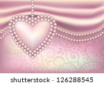 valentine s day wallpaper with... | Shutterstock .eps vector #126288545