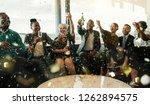 A Festive Multi Ethnic Group O...