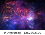 awesome colorful nebula... | Shutterstock . vector #1262902102
