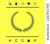laurel wreath. graphic elements ... | Shutterstock .eps vector #1262911705