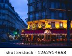 paris  france   march 2018 ... | Shutterstock . vector #1262954668