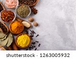 spices and herbs | Shutterstock . vector #1263005932
