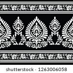 seamless traditional indian... | Shutterstock .eps vector #1263006058