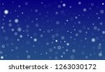 beautiful christmas background... | Shutterstock .eps vector #1263030172