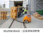 Loading Boxes At Pallet With...