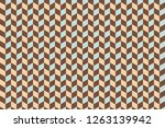 3d cubes patterns background    ...   Shutterstock . vector #1263139942