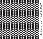 seamless hexagon pattern...   Shutterstock .eps vector #1263144592