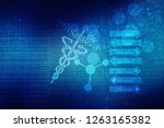 2d illustration health care and ... | Shutterstock . vector #1263165382