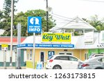 key west  usa   may 1  2018 ... | Shutterstock . vector #1263173815