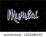 handwritten lettering...   Shutterstock .eps vector #1263180142
