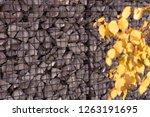 texture welded gabions | Shutterstock . vector #1263191695