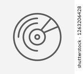 vinyl icon line symbol....