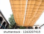 exterior of a local building in ... | Shutterstock . vector #1263207415