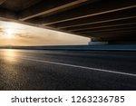 highway overpass in the sunset | Shutterstock . vector #1263236785