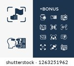 creativity icon set and... | Shutterstock .eps vector #1263251962
