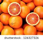 Red Oranges Of Sicily  Italy