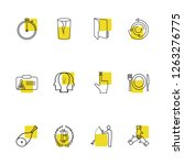 pack icons set with personal...