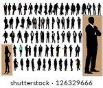 business people | Shutterstock .eps vector #126329666