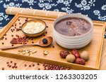 chinese northern cuisine laba... | Shutterstock . vector #1263303205