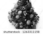 christmas tree model made of... | Shutterstock . vector #1263311158