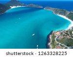 arraial do cabo  rio de janeiro ... | Shutterstock . vector #1263328225