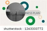 poster infographics information ... | Shutterstock .eps vector #1263333772
