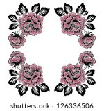 rose  pattern | Shutterstock . vector #126336506