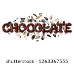 Word Chocolate Cracked Sunflower - Fine Art prints