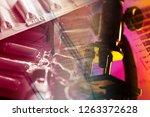tablets. medicine symbol | Shutterstock . vector #1263372628