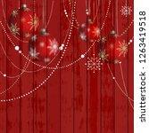 Christmas Wood Digital Paper  ...