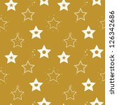 seamless pattern with different ... | Shutterstock .eps vector #126342686