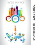 infographic elements   set of... | Shutterstock . vector #126343802