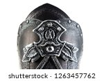 leather armor on the arms and... | Shutterstock . vector #1263457762