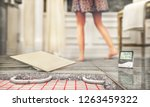tile floor with floor heating.... | Shutterstock . vector #1263459322