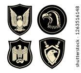 chevron for military units... | Shutterstock . vector #1263516148